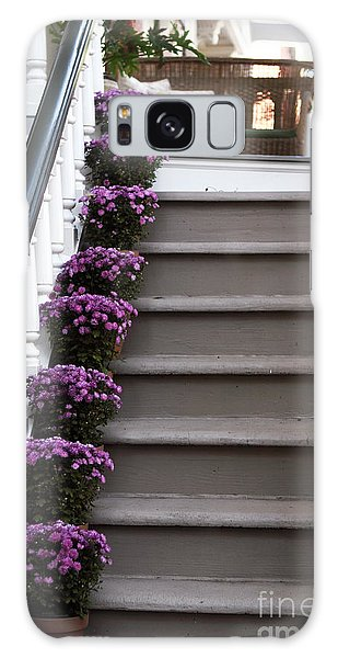 Purple Plants Galaxy Case