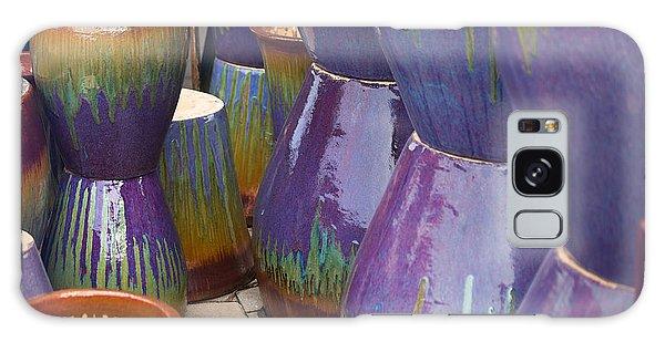 Purple Pots Galaxy Case