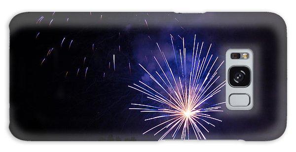 Purple Power Galaxy Case by Suzanne Luft