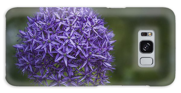 Purple Puff Galaxy Case by Jacqui Boonstra