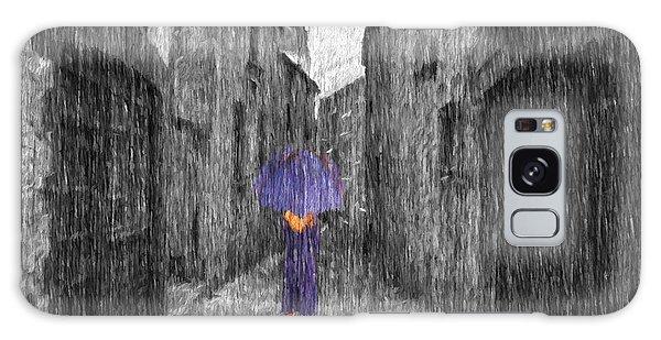 Purple Rain Galaxy Case by Jim  Hatch