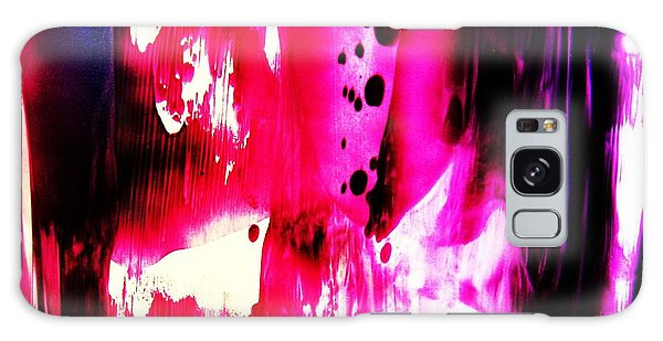 Purple Red Haze Galaxy Case