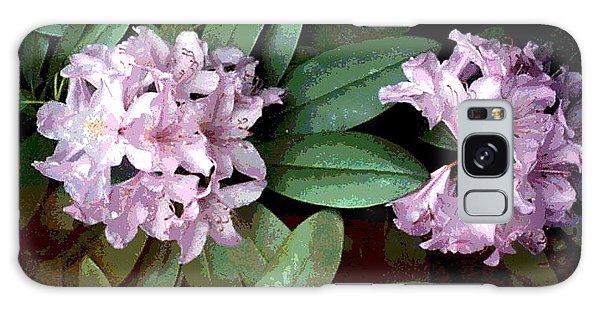 Purple Rhododendron Galaxy Case