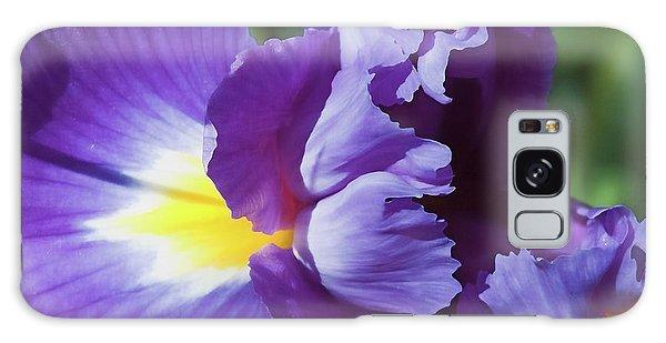 Purple Ruffles Galaxy Case
