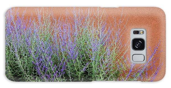 Purple Sage And Adobe Wall Galaxy Case by Pattie Calfy