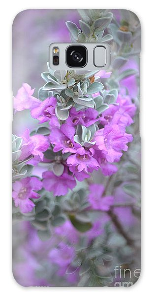 Purple Sage Galaxy Case by Deb Halloran
