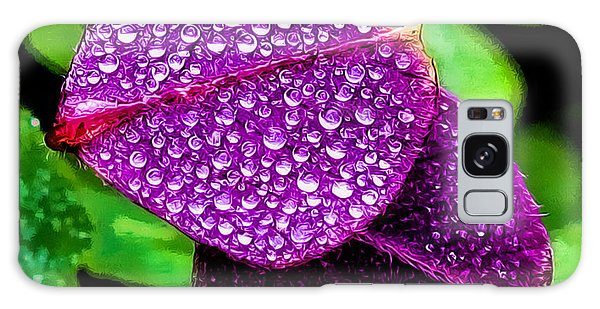 Purple Shimmer Galaxy Case