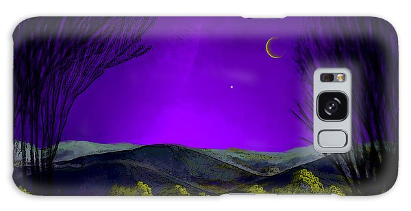 Purple Sky Galaxy Case