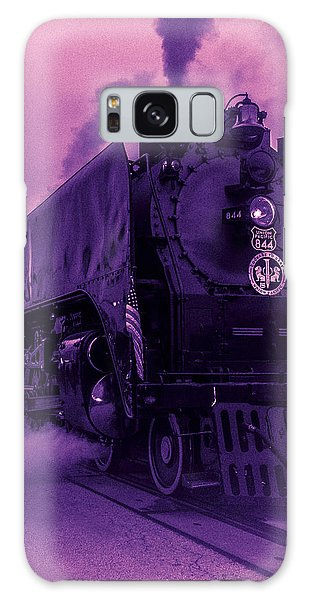 Purple Smoke Galaxy Case