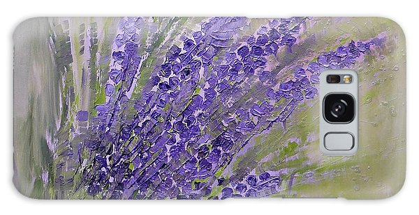 Purple Lavender Summer Galaxy Case