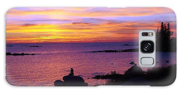 Purple Sunset 2 Galaxy Case