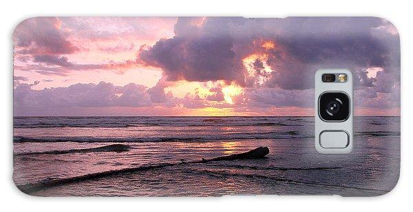 Purple Pink Sunset Galaxy Case by Athena Mckinzie