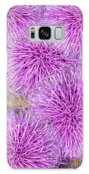 Purple Thistle - 2 Galaxy Case