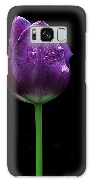 Purple Tulip Galaxy Case