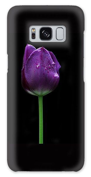 Purple Tulip Galaxy Case