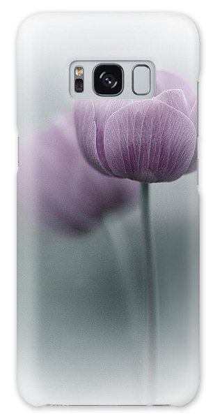Tulips Galaxy Case - Purple Tulip by Purple Bamboo