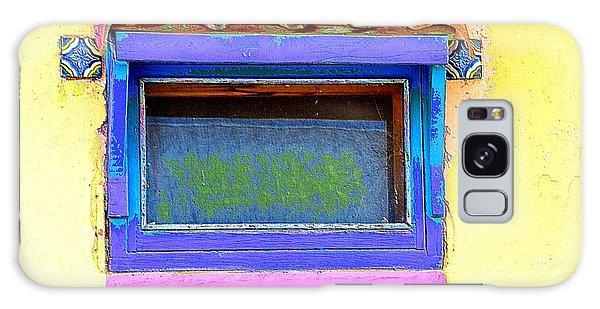 Purple Window Galaxy Case