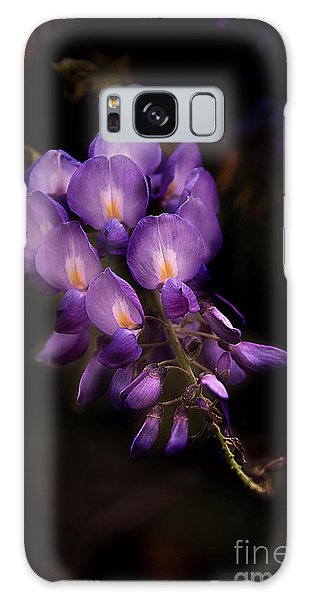 Purple Wisteria Galaxy Case