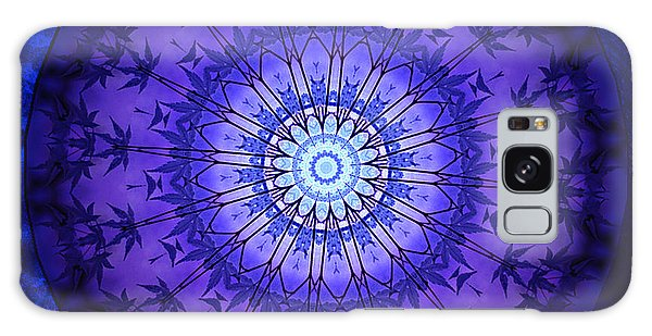 Purpleblue 2 Galaxy Case by Barbara R MacPhail