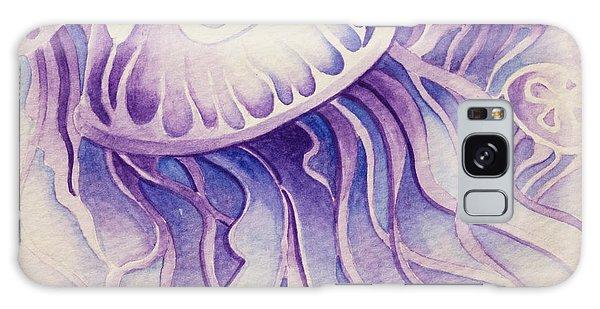Purpura Jellyfish Galaxy Case