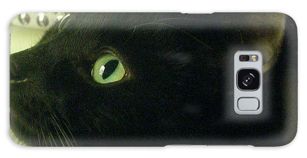 Purrfect Pose Galaxy Case
