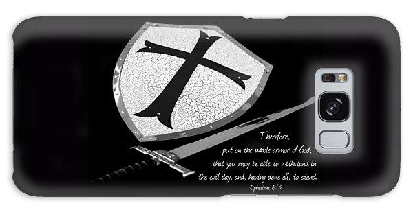 Put On The Armor Ephesians 6 Galaxy Case