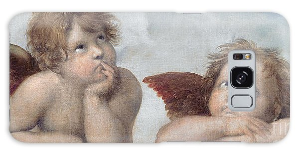 Divine Galaxy Case - Putti Detail From The Sistine Madonna by Raphael