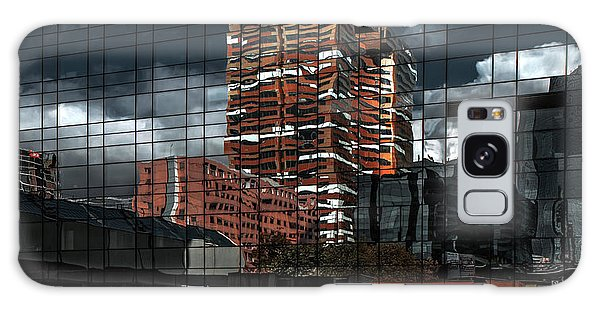 Glass Galaxy Case - Puzzle Reflection by Gilbert Claes