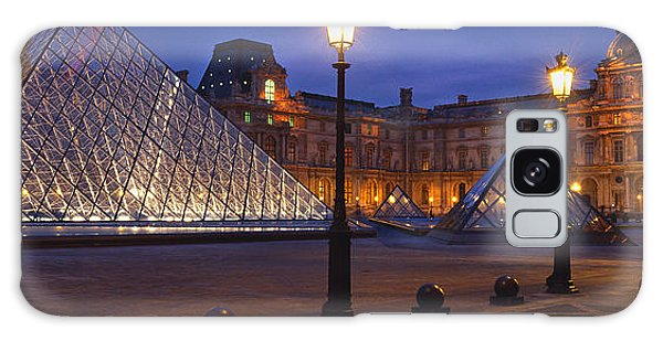 Cultural Center Galaxy Case - Pyramid At A Museum, Louvre Pyramid by Panoramic Images