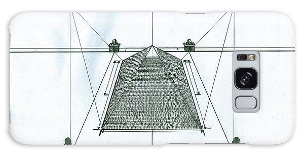 Pyramid Galaxy Case by Richie Montgomery