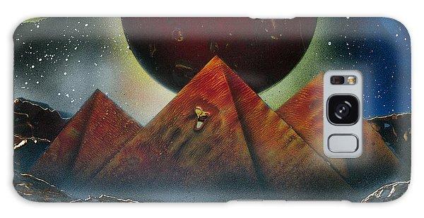 Pyramids 4663 Galaxy Case by Greg Moores