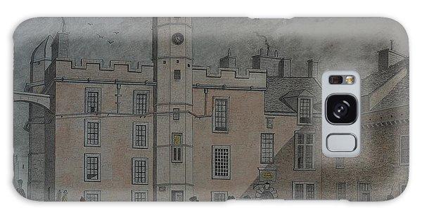 Quadrangle Edinburgh Castle Galaxy Case