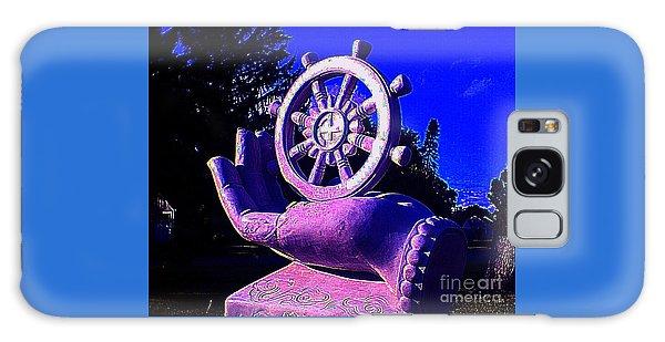 Buddhist Dharma Wheel 2 Galaxy Case