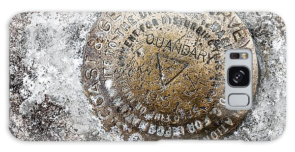Quandary Survey Marker Galaxy Case