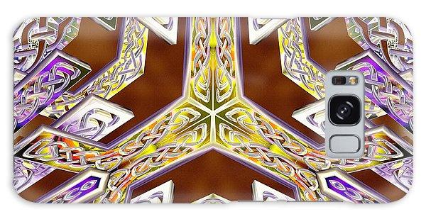Galaxy Case featuring the digital art Quantum Legacy by Derek Gedney