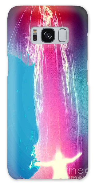 Quantum Time Travel 3d Galaxy Case