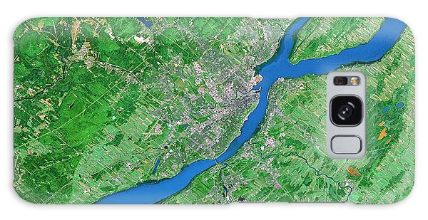 Quebec City Galaxy Case - Quebec City by Worldsat International/science Photo Library