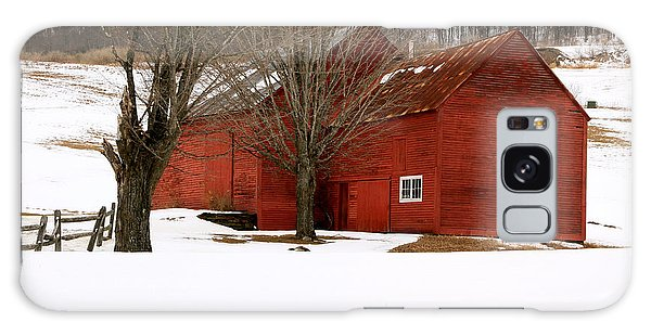 Quechee Red Barn Galaxy Case