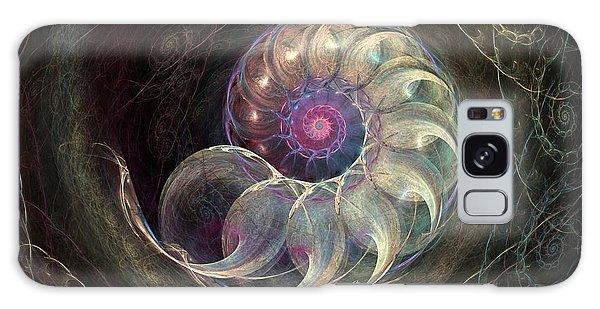 Queen Ammonite Galaxy Case