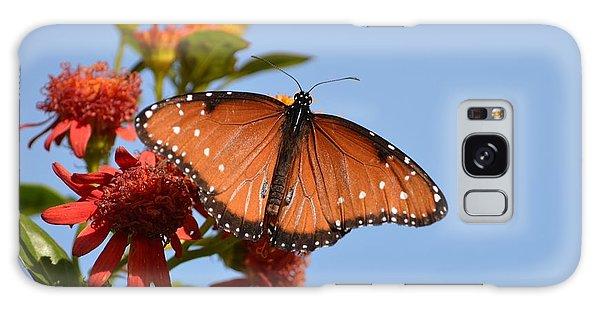 Queen Butterfly Galaxy Case by Debra Martz