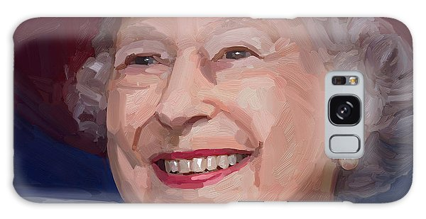 Queen Elizabeth II Galaxy Case