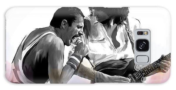 Queen II  Freddie Mercury And Brian May Galaxy Case
