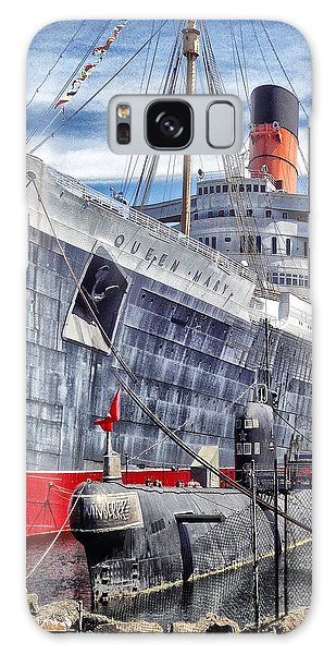 Queen Mary In Long Beach Galaxy Case