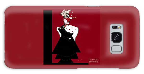 Queen Of Hearts Galaxy Case