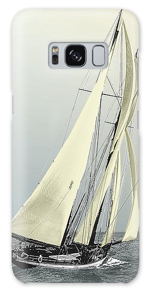 Quickstep - Schooner Yacht Galaxy Case