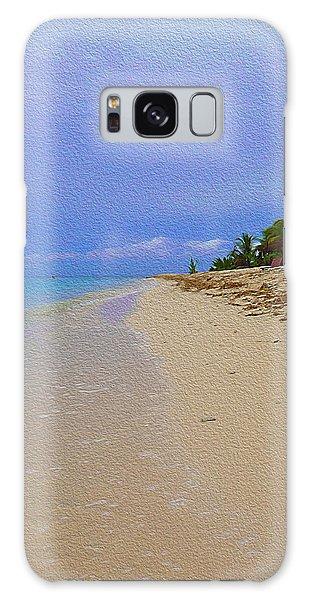 Quiet Beach Galaxy Case