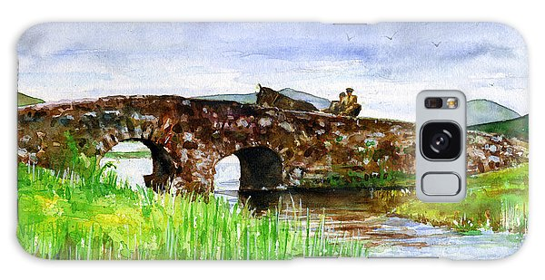 Quiet Man Bridge Ireland Galaxy Case by John D Benson