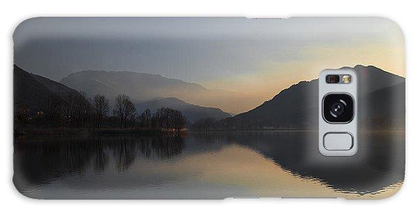 Quiet Morning Galaxy Case by Yuri Santin