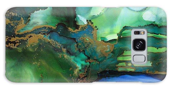 Quiet Pond Galaxy Case by Kathy Sheeran