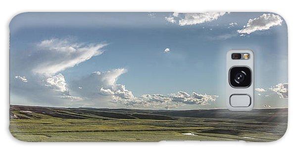 Quiet Prairie Galaxy Case by Jon Glaser